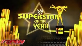 Superstar of the Year: 2013 Slammy Award Presentation