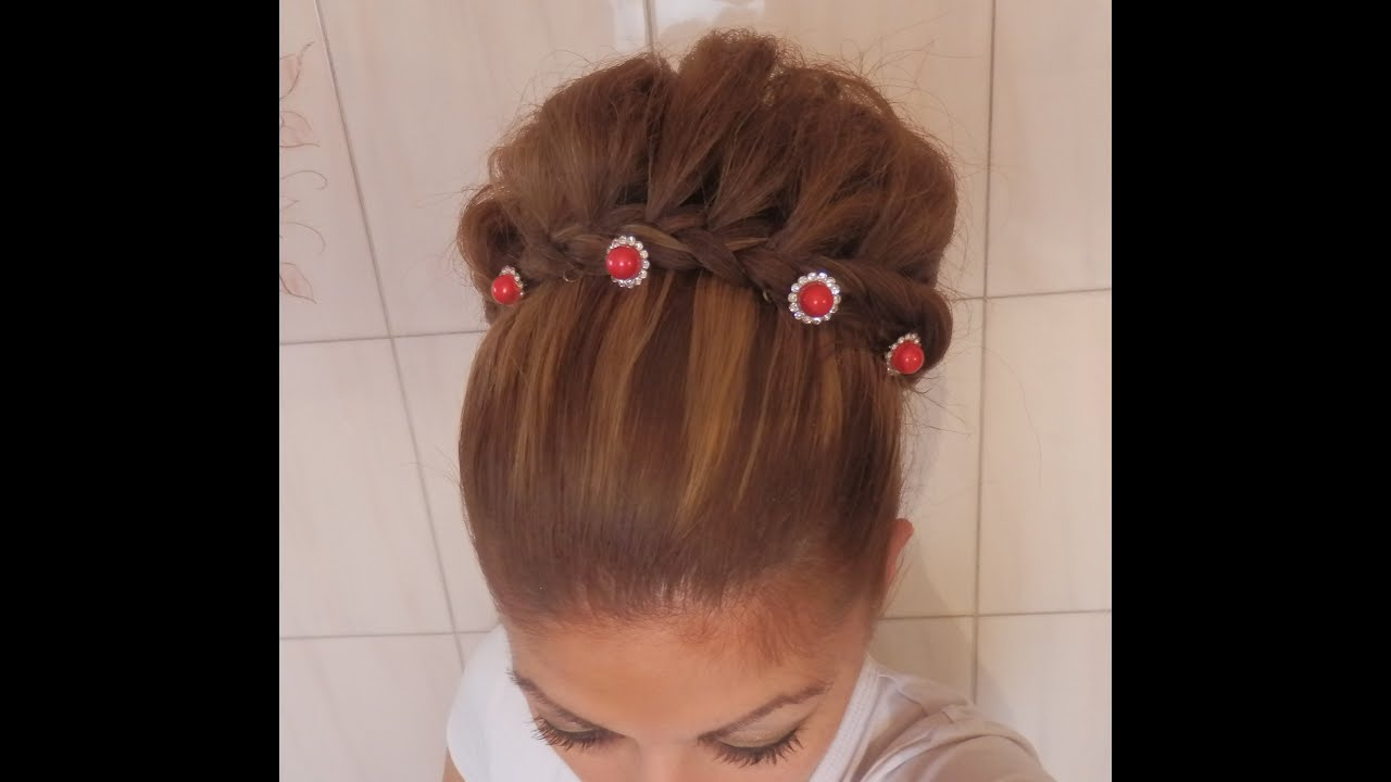 Tuto coiffure n 18 chignon tress 2 en 1 facile - Creation facile a faire soi meme ...