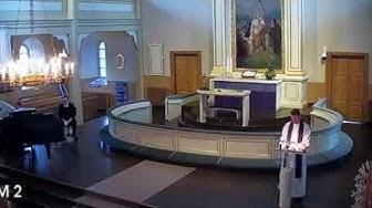 Jumalanpalvelus Juvan kirkosta 29.3.2020