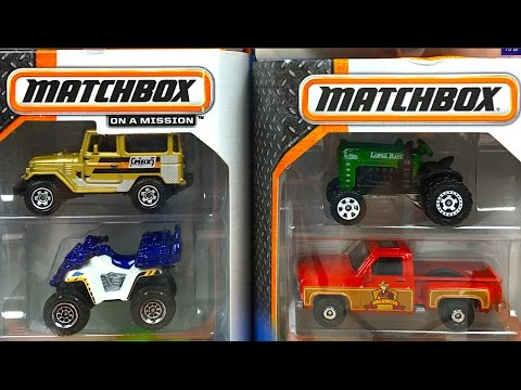 COLLECTION OF MATCHBOX ON MISSION 18 DIFFERENT MBX PACKS AND PLAYSETS - MIGHTY MACHINES FIRE TRUCKS
