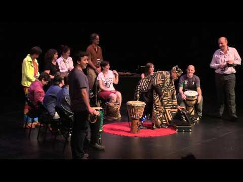 Spiritual drumming: Dennis Daniels at TEDxNavesink