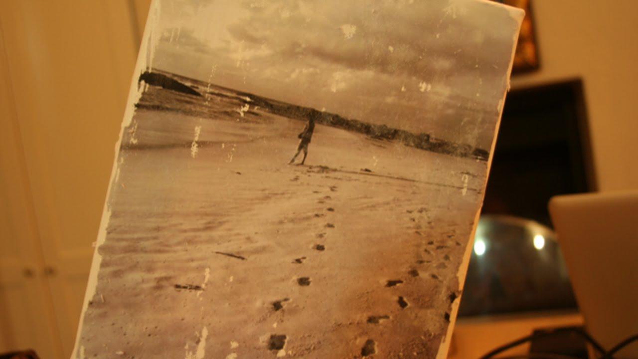 abbastanza Crea una Bella Foto su Tela in Stile Vintage - Fai da Te Casa  BE05