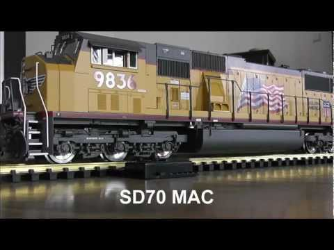 Indoor g scale Union Pacific Freight Consist
