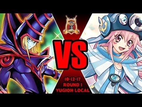 Dark Magician Vs Pendulum Magicians - Yugioh Gauntlet Local Tournament 10-12-17 R1