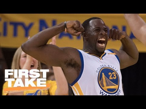 Stephen A. Alarmed By Warriors' Defense Without Green | First Take | April 17, 2017