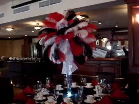 Casino Vegas Themed Centerpieces at Biagios The Terrace Paramus NJ  YouTube