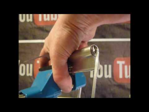 Взлом отмычками --    Single Pin Picking An Unknown 6 Pin Euro Cylinder Lock With Microsoft Looking Logo On Key (Most of my videos are tutorials with hints and ti