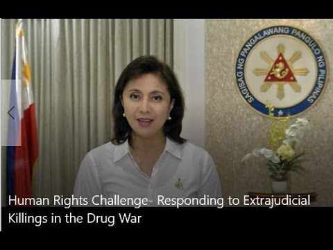 Message of Philippines Vice President Leni Robredo on Extrajudicial Killings