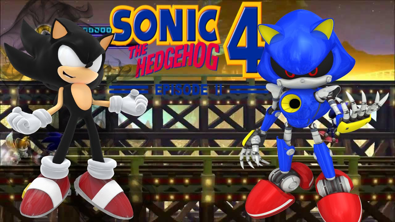 sonic 4 episode ii mod dark sonic youtube. Black Bedroom Furniture Sets. Home Design Ideas