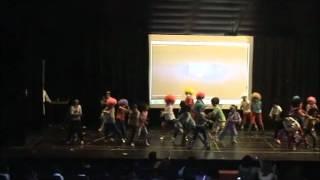 """Segundo baila """"Abanibi Aboebe"""". Festival Obispovisión"""