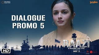 Raazi   Dialogue Promo 5   Ek Bhul Ek Chuk