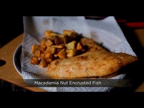 Macadamia Nut Encrusted Fish (Delish)