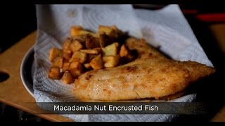 Macadamia Nut Encrusted Fish (delish)