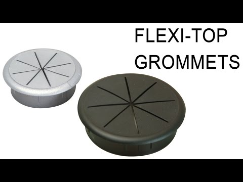 Hafele Flexible Top Cable Grommet | Large or Small Plugs