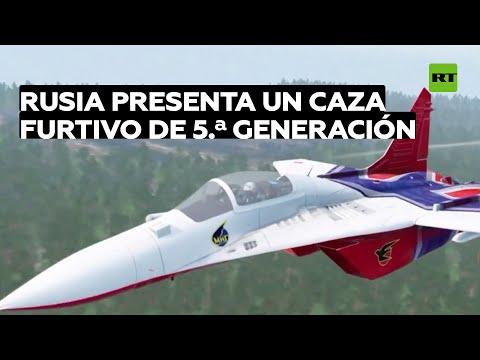 Rusia Presenta Un Caza Furtivo De 5.ª Generación Durante El Salón MAKS 2021