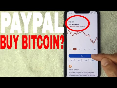 ✅  How To Buy Bitcoin On Paypal 🔴