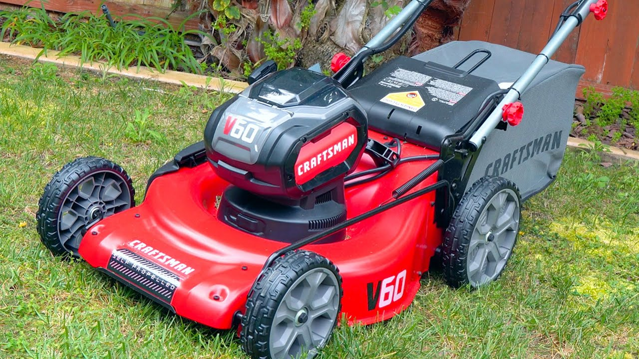 Craftsman V60 Electric Mower Reviewed Youtube