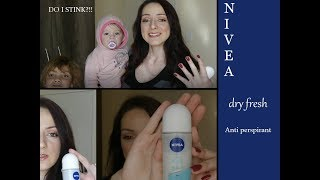 Review : Nivea Dry Fresh Antiperspirant | Roll On