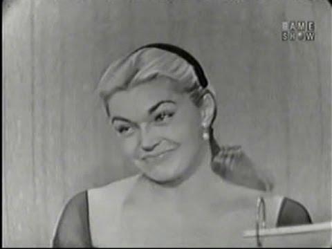 What's My Line? - Esther Williams; Dick Clark [panel] (Jul 27, 1958)
