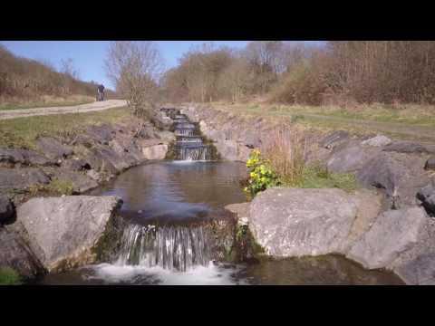 Taff Bargoed Park drone footage