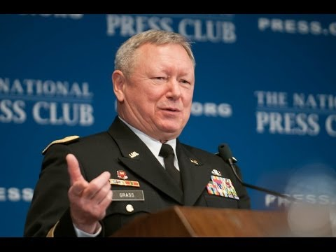 Frank Grass, Chief of The National Guard Bureau, speaks at The National Press Club - Jan. 9, 2014
