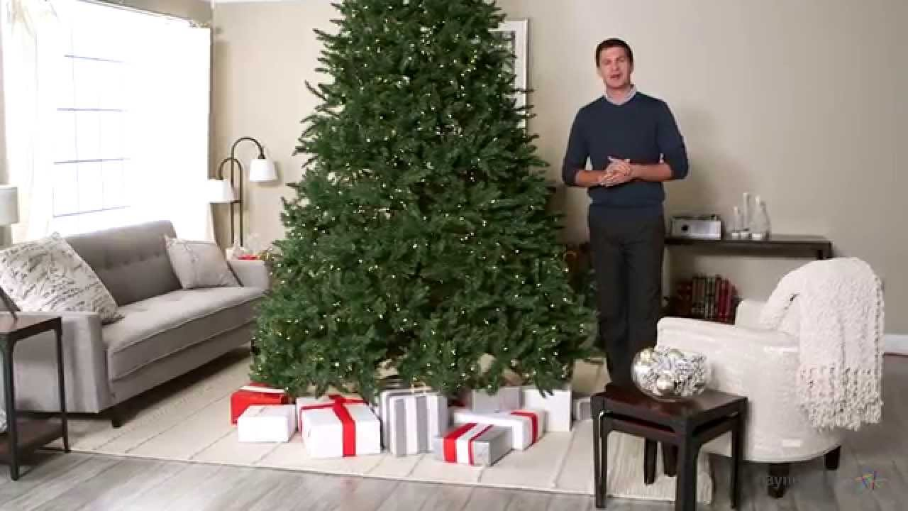 classic pine full pre lit christmas tree 10 ft clear product review video youtube - 14 Foot Christmas Tree