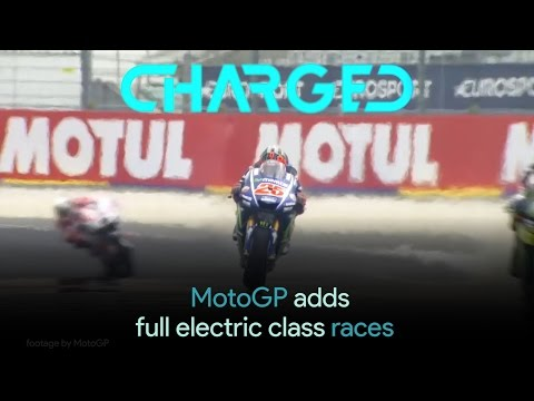 MotoGP motorcycle racing league to add full electric class races