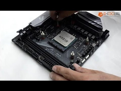 How to Install ID-COOLING FROSTFLOW 240L on AM4 Socket
