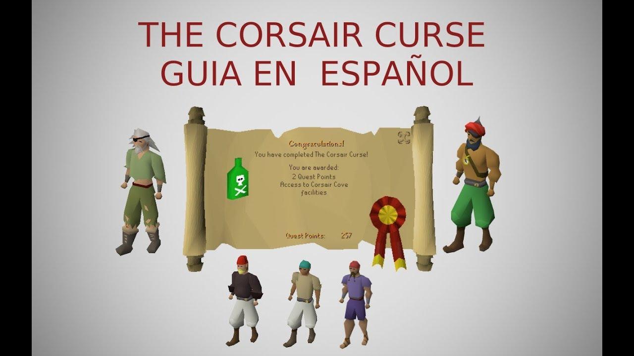 [OSRS] The Corsair Curse Quest (Español)