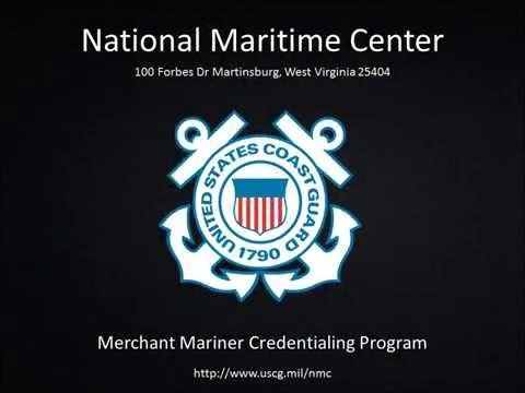 National Maritime Center: CG-719S Sea Service Form