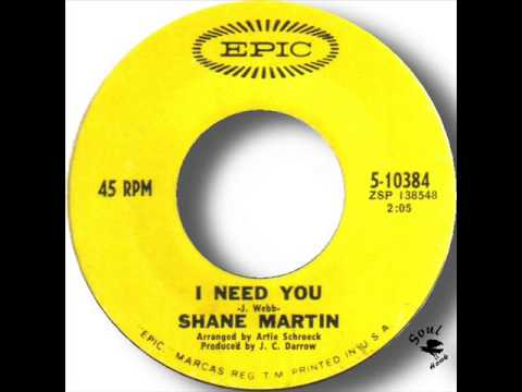 Shane Martin   I Need You