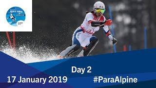 Day 2 | Run 1 | World Para Alpine Skiing World Cup | Zagreb 2019