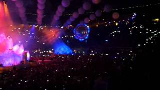 Opening Scene of Sensation White 2011 - Innerspace in Barcelona