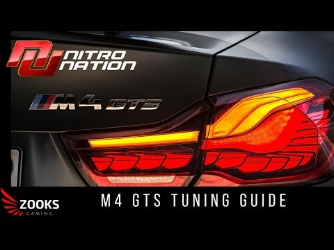 Nitro Nation - BMW M4 GTS Tuning Guide & Online Race