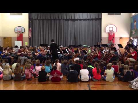"""Dover Ohio High School Orchestra """" Pirates of the Caribbean """""""