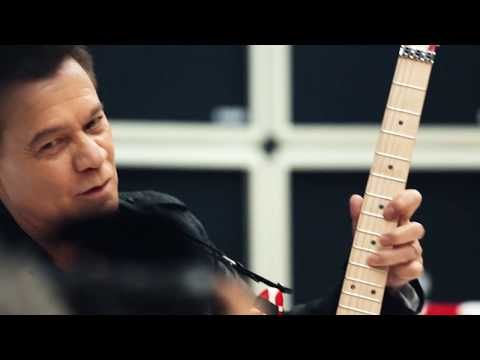 Eddie Van Halen Musician's Friend Catalog Shoot: Behind The Scenes