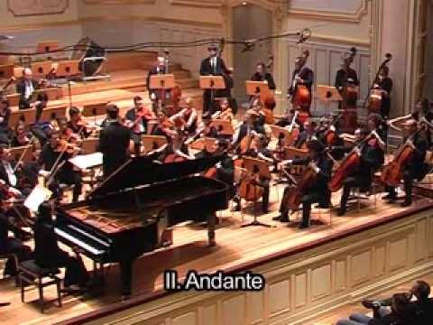 Mariana Popova / Dmitri Shostakovich / Piano Concerto Nr.2, 2nd. mov.