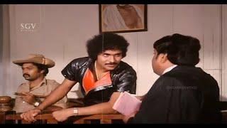 Ravichandran Intelligent Answers In Court To Prove Himself As Jonny | Pralayanthaka Kannada Scene