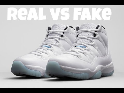 REAL VS FAKE - Jordan XI Legend Blue