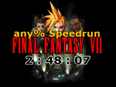 Final Fantasy VII : any% Speedrun in 2:48:07 (WR)