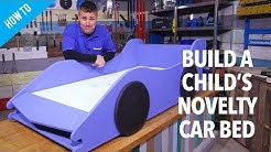 How to build a child's novelty car bed