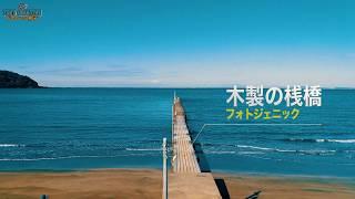 話題「原岡桟橋」ドローン空撮 絶景!富士山!4k drone japan