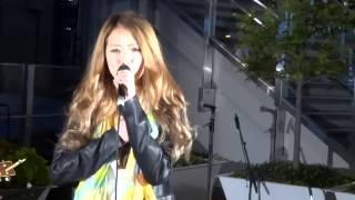 Mei「明日へ」(MISIA)、大阪駅前カリヨン広場、14.05.23