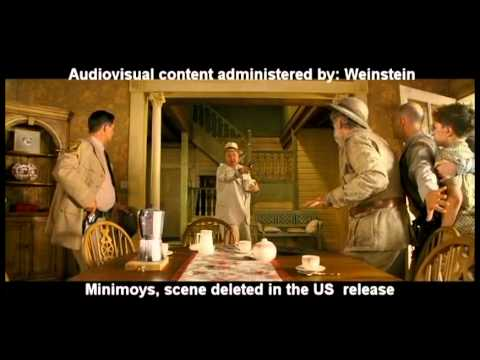 Minimoys deleted scene 10 - And now, The treasure is mine