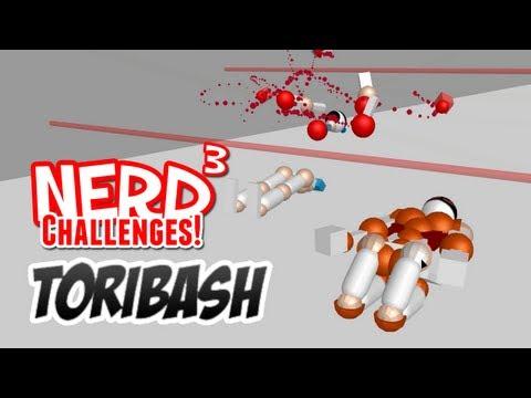 Nerd³ Challenges! Laser Survival! Toribash