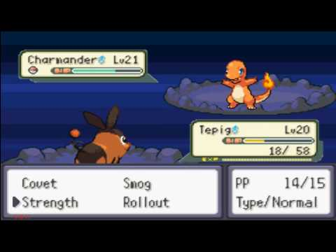 How To Get Charmander In Pokemon Theta Emerald