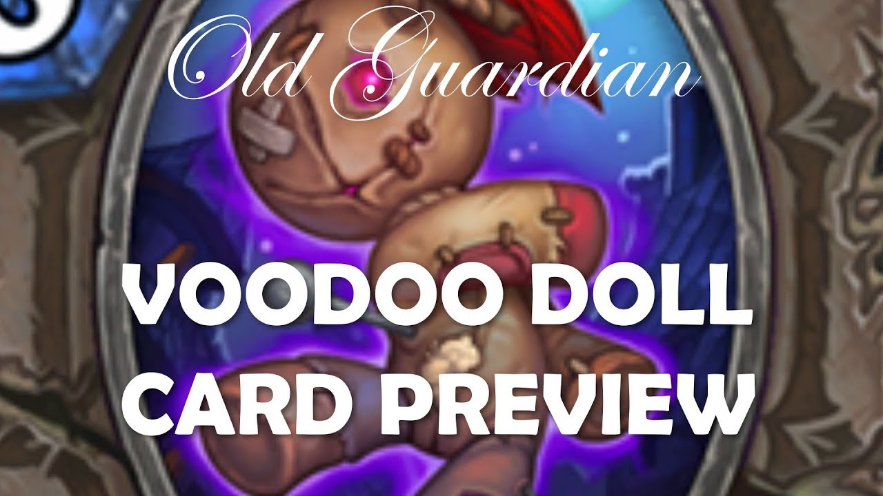 Voodoo Doll Neutral Hard Removal Hearthstone The Witchwood Card