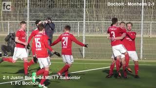 21. Spieltag: 1. FC Bocholt - 1. FC Monheim 4:2 (2:1)