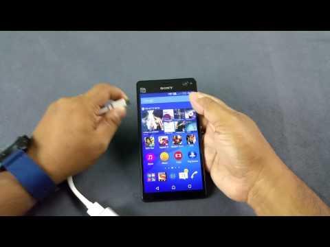 Sony Xperia C4 Dual Notification LED, Proximity sensor & Auto brightness test