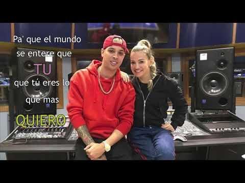 Noriel - Romper El Hielo (Video Lyric Oficial) ft. Fanny Lu